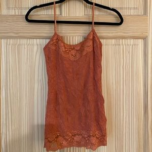 Cute lace cami